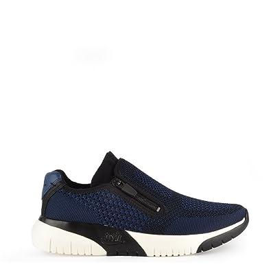 Ash Chaussures Chaussures Ash Studio Knit Ocean Bleu Baskets Femme 36 EU Ocean Noir 92300d