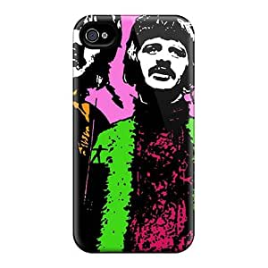 Bumper Cell-phone Hard Cover For Iphone 4/4s With Allow Personal Design High Resolution The Beatles Pictures JamesKrisky