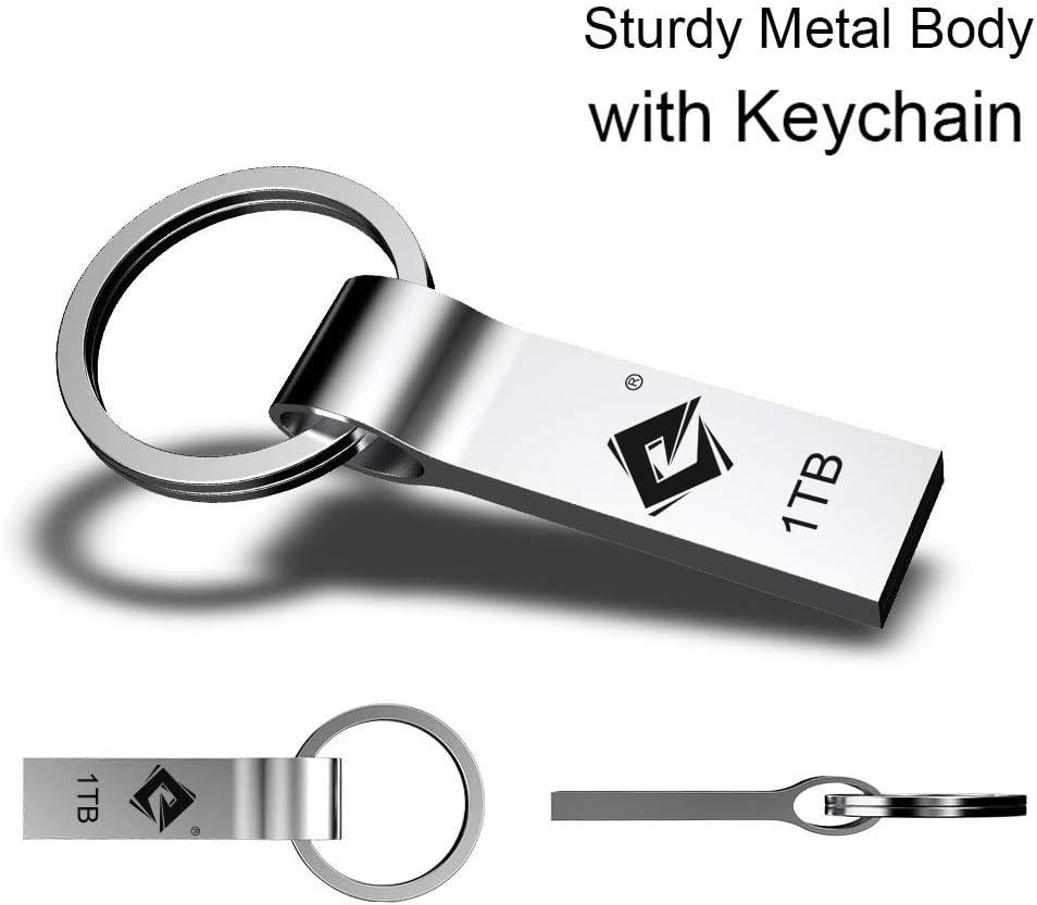 Waterproof Durable Jump Drive with Keychain Portable Large Storage USB Memory Stick USB Flash Drive 1TB Thumb Drive: Nigorsd High Speed USB Drive
