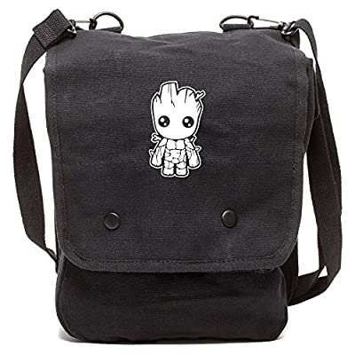 f705102d7d Baby Groot Guardians of the Galaxy Canvas Crossbody Travel Map Bag Case on  sale
