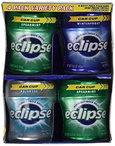 Eclipse Big-E Gum Variety Pack - 4 ct