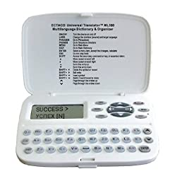 Ectaco ML350 Handheld Electronic Universal Translator Dictionary
