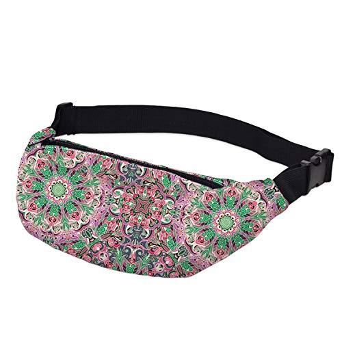 Waterproof Space Llama Fanny Pack for Women Belt Bag Waist Bag Hip Bum Bag with Adjustable (Zeeland Van Kathy Belt)