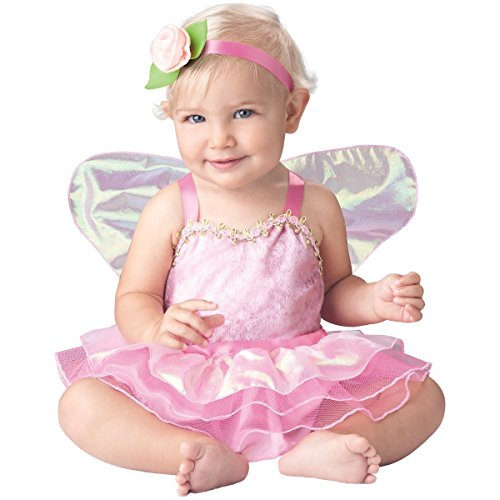 InCharacter Baby Girl's Precious Pixie Costume, Pink, Large (18-24Months)