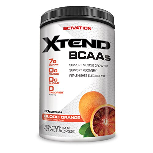 Scivation Xtend BCAA Powder, Blood Orange, 30 Servings