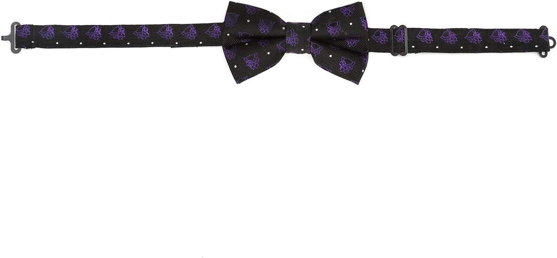Marvel Boys Black Panther Purple Dot Tie