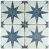 SomerTile FPESTRB Tile, Blue