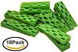 Plastic Wedge - For Using as Door Wedges, Window Wedges, Flooring Spacers - Universal Plastic Shims,Heavy Duty Shims - 4.5