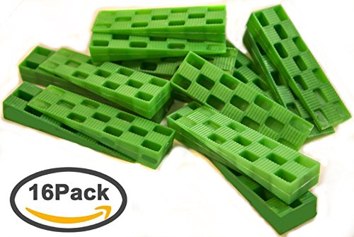 Plastic Wedge - For Using as Door Wedges, Window Wedges, Flooring Spacers - Universal Plastic Shims,Heavy Duty Shims - 4.5