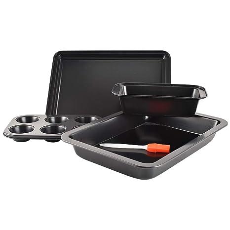 Amazon.com: Juego de utensilios para horno antiadherentes, 5 ...