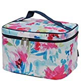 Summer Watercolor NGIL Large Top Handle Cosmetic Case