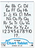 Becker's School Supplies Pacon Chart Tablet Packs, 24'' x 32'', 1½'' Ruling, (Set of 4)