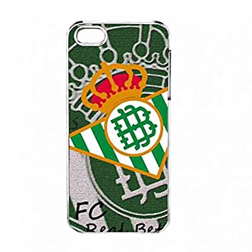 Gel de silicona Transparente Apple Iphone 5s Real Betis ...