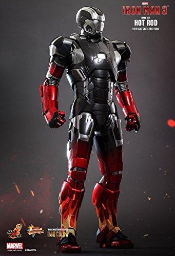 Marvel Iron Man 3 Hot Rod Armor Mark XXII Sixth Scale Exclusive Diecast Figure
