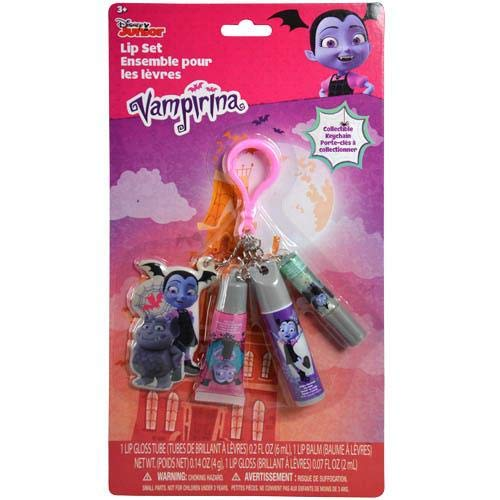 (Disney Vampirina Keychain with Charm and Lip Care Accessories (Vampirina))