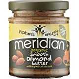 Meridian Organic Almond Butter 170 g (Pack of 3)