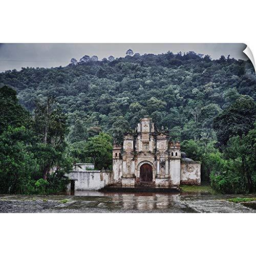Canvas on Demand Wall Peel Wall Art Print Entitled Antigua City, Guatemala, Centroamerica 24