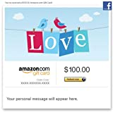 Amazon Gift Card - Facebook - Love
