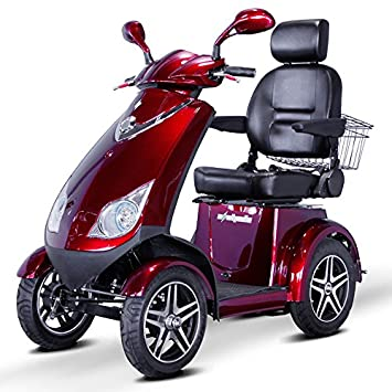 Amazon.com: e-wheels – EW-72 Heavy Duty Scooter – 4-Wheel ...