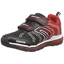 Geox J Android B. Lighted Light Up Velcro Sneaker