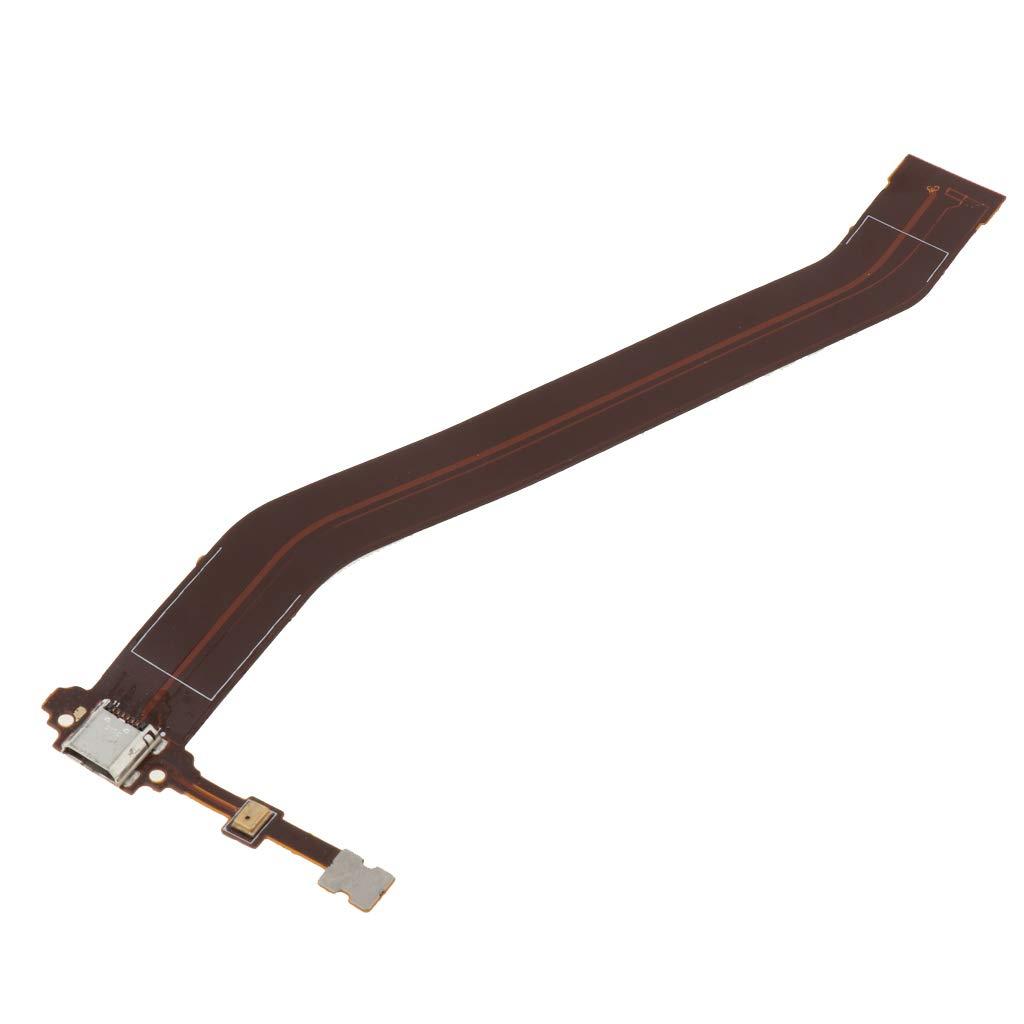 P Prettyia Cinta De Cable Flexible con Cargador Puerto De Carga USB Conector Y Pieza De Repuesto De Micr/ófono para Samsung Galaxy Tab 3 10.1 P5200