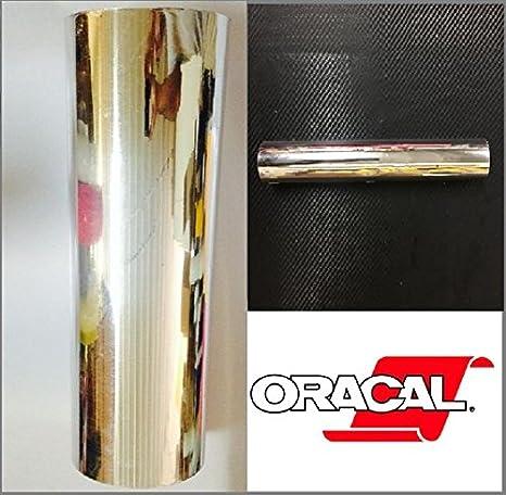 Your Design Oracal 351 plata cromo Craft & Hobby película de vinilo de corte plotter: Amazon.es: Juguetes y juegos