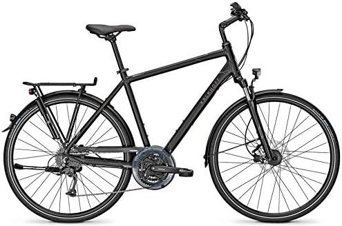 Bicicleta de trekking Kalkhoff Voyager Pro 27 G 28 pulgadas, frenos de disco, altura del cuadro: 60 cm; colores: negro mate: Amazon.es: Deportes y aire libre