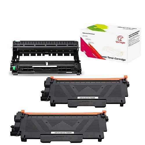 UniVirgin Compatible Toner Cartridge & Drum Unit Set Replacement for Brother E310 Toner Cartridge & Brother E310 Drum Unit for Brother Brother E310 E514 E515 for use in Dell E310dw E514dw E515dw E515d