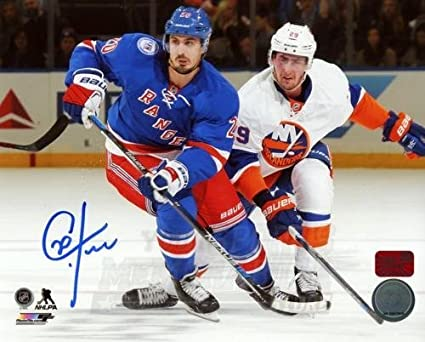 first rate 6fab4 bdfba Chris Kreider New York Rangers Signed Autographed Home ...