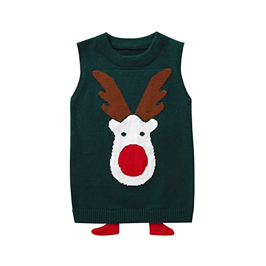 0e932dd8d9dd Amazon.com  Outtop(TM) Baby Boys Girls Christmas Sweater Toddler ...