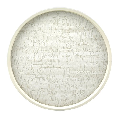 Kraftware the Naturals Collection Stucco Cork Round Serving Tray, 14