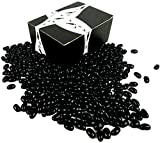 Cuckoo Luckoo Black Licorice Jelly Beans, 2 lb Bag in a BlackTie Box