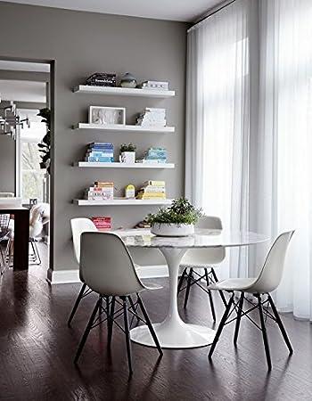 Amazon.com: Juego de dos (2) silla lateral modelo Eames y ...