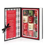 Yankee Candle 12 Days of Christmas Samplers Votive Book Gift Set
