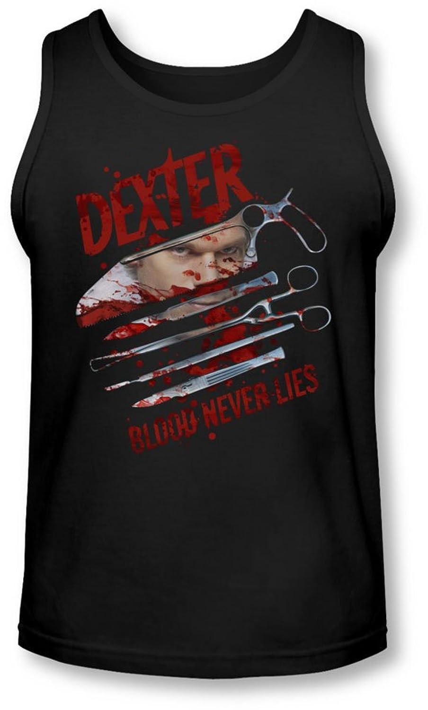 Dexter - Mens Blood Never Lies Tank-Top