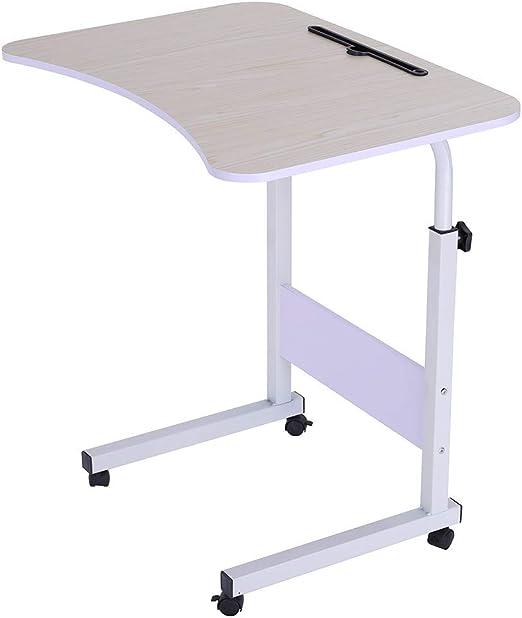 Mesa auxiliar para sofá, mesa en forma de C para portátil, mesa ...
