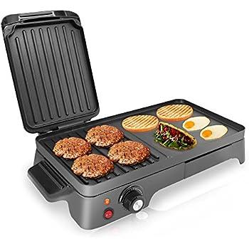 Amazon Com Cuisinart Gr 55 Griddler Stainless Steel