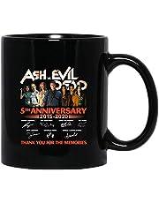 Ash Film vs Evil Dead 5th Anniversary 2015-2020 gjuten signerad gåva fan tack rolig kaffemugg tekoppar