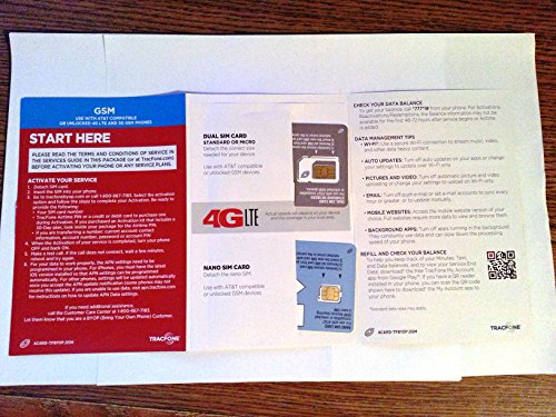 TracFone Bring Your Own Phone SIM Activation Kit - Import It All