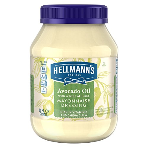 e Dressing, Avocado Oil with a hint of Lime 24 oz ()