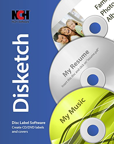Disketch CD Label Software [Download] (Multimedia Software)