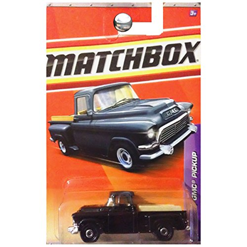Matchbox 2011 Construction 38 of 100 '57 GMC Pickup (Black)