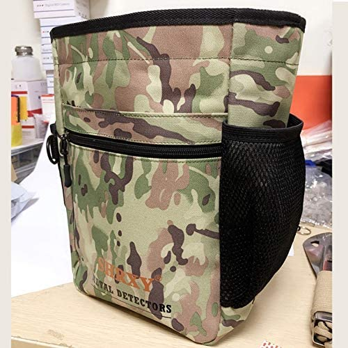 Details about  /Metal Detecting Finds Bags With 52 Inch Belt High Quality Camo