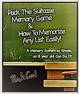 Amazon com: Pack The Suitcase Memory Game & How to Memorize
