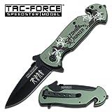 ZOMBIE HUNTER AO RESCUE FOLDING KNIFE- TF799GZ, Outdoor Stuffs