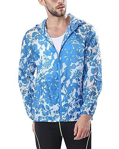 Camping Donna Capispalla E Impermeabile Blau Elodiey Uomo Solare Protezione Outdoor Da All'aperto Camo Giovane Abbigliamento 2 Traspirante Giacca wy1fWqX1A