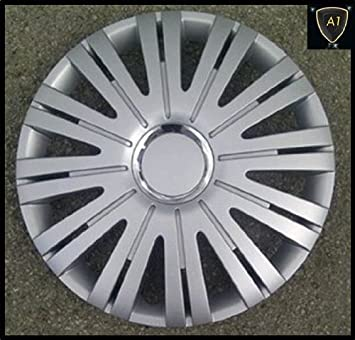 "CHEVROLET KALOS 05-08 15"" Inch Active Wheel Trims Hub Caps Covers - Silver"