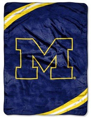 (NCAA Michigan Wolverines FORCE 60x80 Super Plush)