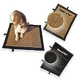 Cat Scratch Mat,Cat Scratch Pad,Cat Scratcher Sisal Mat Pad, Soft Trim, Size, 18.5″ x 14.5″ / 37cm x 47cm For Sale
