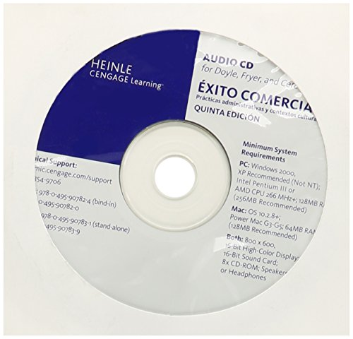 Audio CD-ROM, StandAlone for Doyle/Fryer/Cere's Éxito comercial